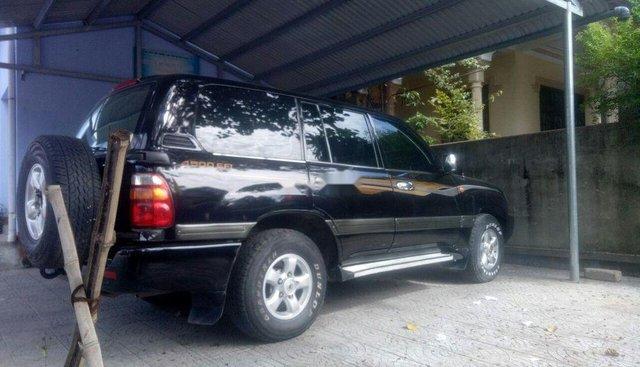 Bán Toyota Land Cruiser 4500EFI đời 2002, màu đen, số sàn, 2 cầu