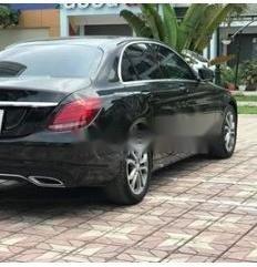 Bán Mercedes C200 đời 2016, màu đen, xe nhập