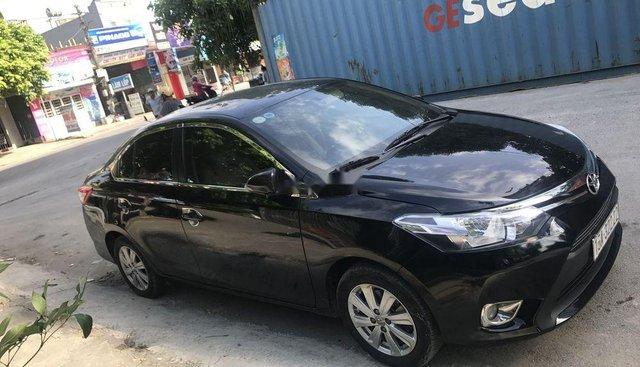 Bán Toyota Vios đời 2016, màu đen, 500 triệu