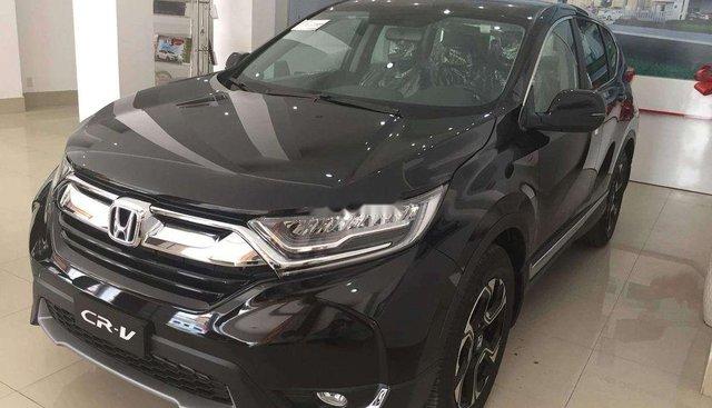 Bán ô tô Honda CR V đời 2019, màu đen, xe nhập, ưu đãi cực hấp dẫn
