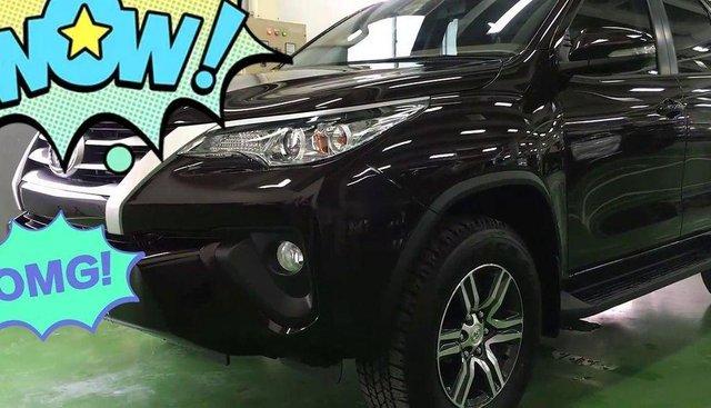 Bán xe Toyota Fortuner đời 2017, màu nâu, nhập khẩu, chạy 1 vạn