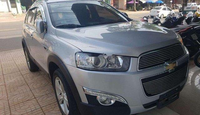 Bán Chevrolet Captiva năm sản xuất 2013, màu bạc, chính chủ
