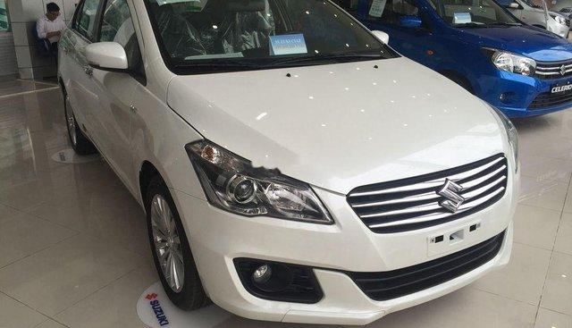 Bán Suzuki Ciaz sản xuất 2019, màu trắng, xe nhập