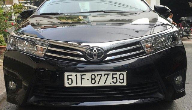Bán xe Toyota Corolla Altis 1.8G 2017, màu đen, giá chỉ 705tr. Liên hệ 0903616317- 0931451542 Phong