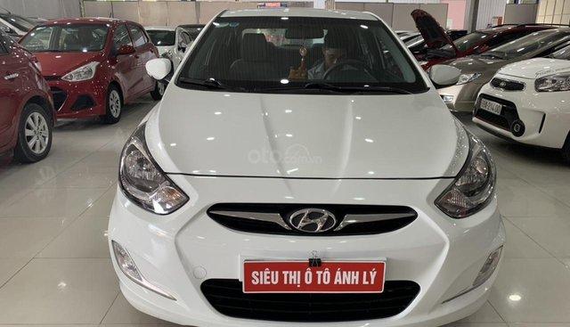 Bán Hyundai Accent 1.4AT đời 2011, màu trắng, nhập khẩu
