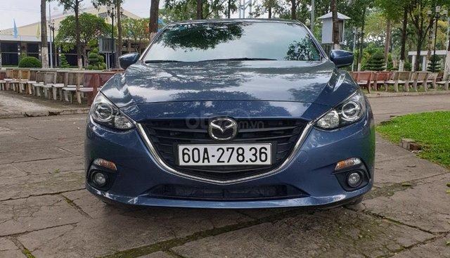 Bán Mazda 3 sản xuất 2016, màu xanh lam