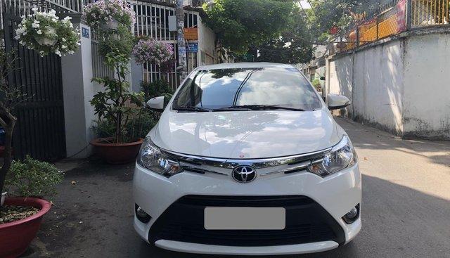 Bán xe Toyota Vios đời 2018, màu trắng