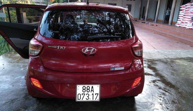 Bán Hyundai Grand i10 năm sản xuất 2015, màu đỏ, nhập khẩu