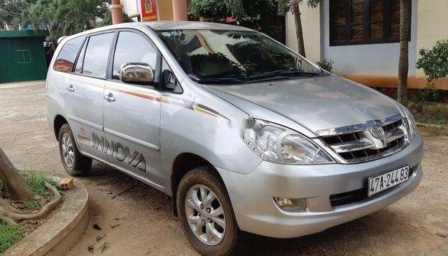 Cần bán Toyota Innova 2.0G 2008, màu bạc