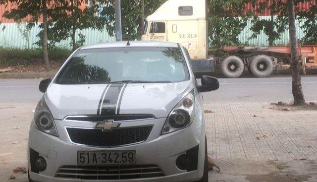Bán xe Chevrolet Spark năm sản xuất 2012, màu trắng