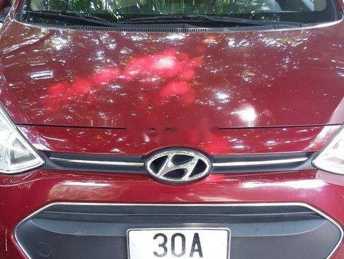 Xe Hyundai Grand i10 đời 2010, màu đỏ, nhập khẩu chính chủ
