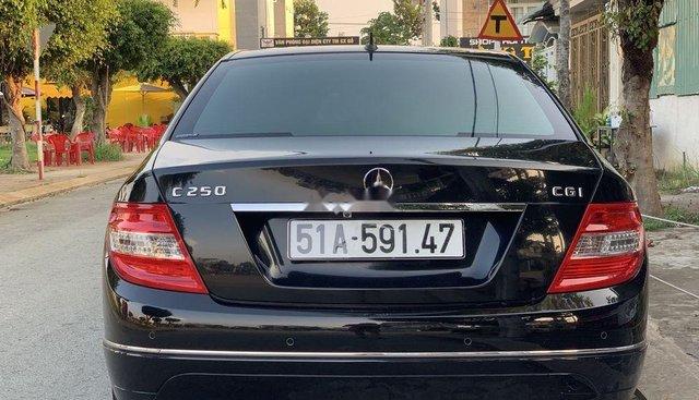 Bán lại xe Mercedes C250 sản xuất 2010, màu đen, 540 triệu
