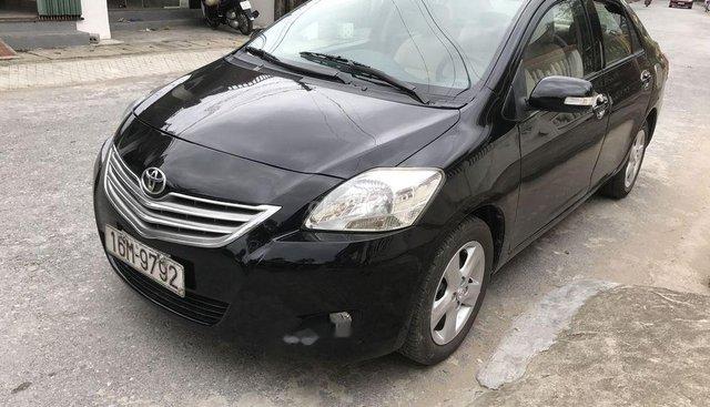 Bán xe Toyota Vios E sản xuất 2009, màu đen
