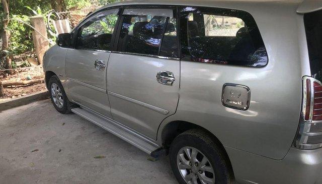 Cần bán lại xe Toyota Innova MT sản xuất 2008, màu bạc, nhập khẩu