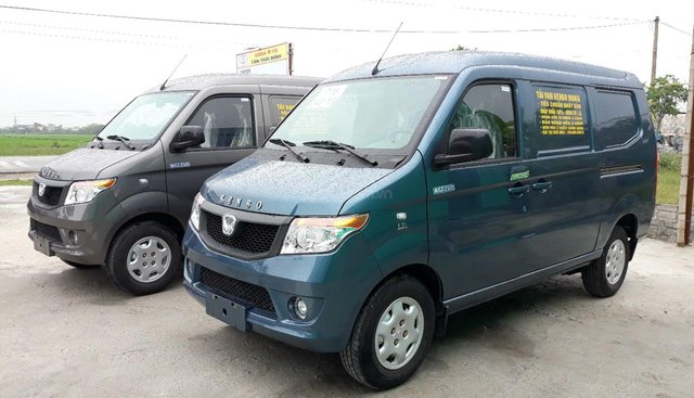 Bán xe tải van Kenbo 5 chỗ mới