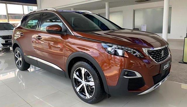 Bán ô tô Peugeot 3008 1.6 AT 2019, màu nâu