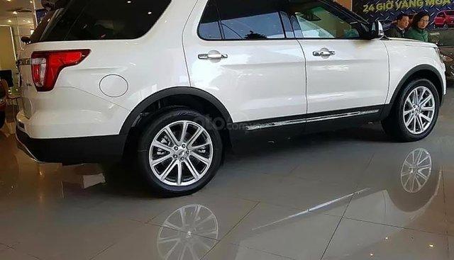Bán Ford Explorer năm sản xuất 2019, màu trắng, xe nhập