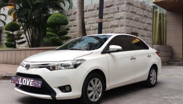 Ô Tô Thủ Đô bán Toyota Vios 1.5 MT SX 2018, màu trắng 459 triệu