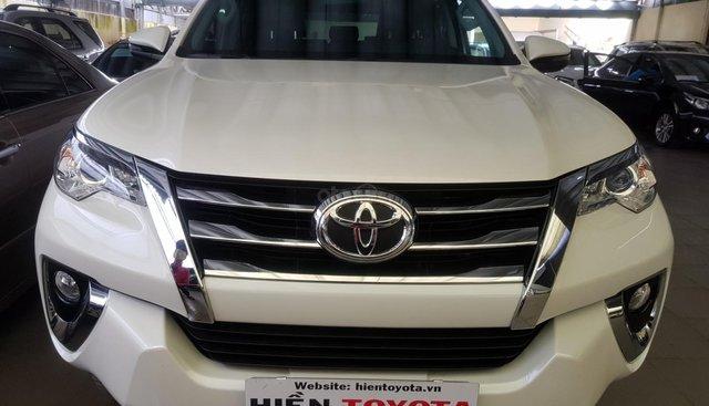 Bán Toyota Fortuner 2.7 đời 2019, màu trắng, nhập khẩu nguyên chiếc