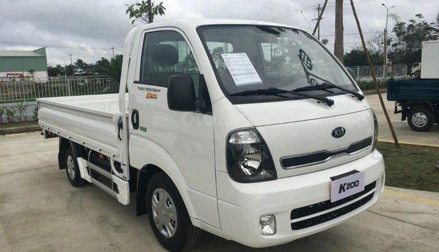 Bán Thaco Kia K200 tải trọng 990-1990 kg màu rêu giá 334 triệu, hỗ tợ trả góp 70% có sẵn xe giao ngay