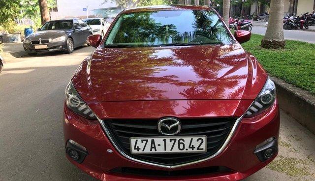 Cần bán Mazda 3 đời 2016, màu đỏ xe gia đình sử dụng ít cần bán lại 555 triệu