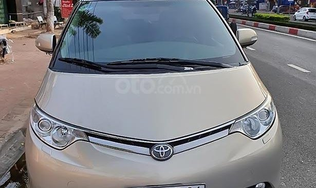 Bán Toyota Previa sản xuất 2008, màu vàng, xe nhập