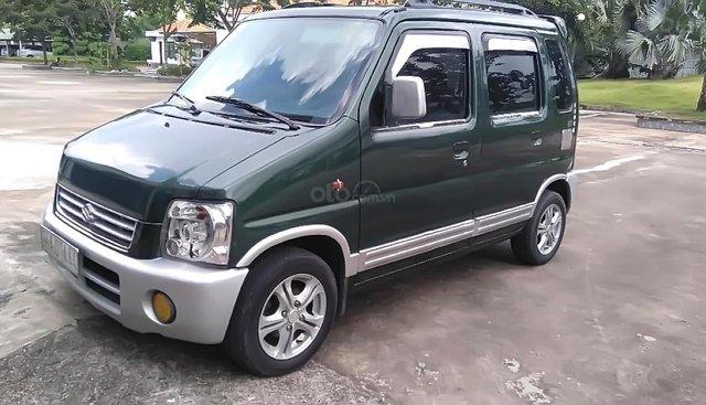 Bán Suzuki Wagon R+ 1.0 MT năm sản xuất 2004, màu xanh lục số sàn