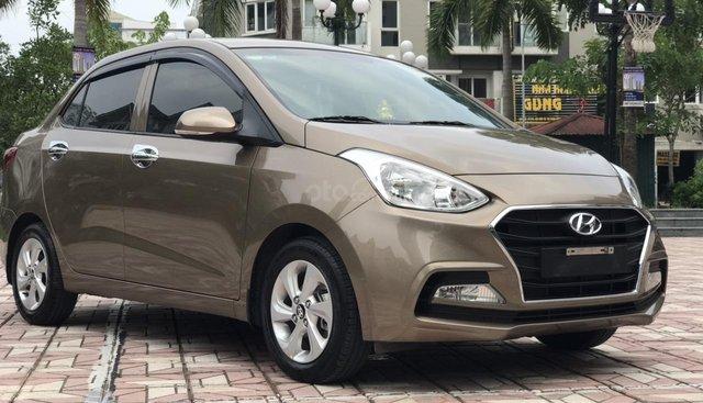 Cần bán Hyundai Grand i10 Grand 1.2AT năm 2019, màu nâu, giá tốt