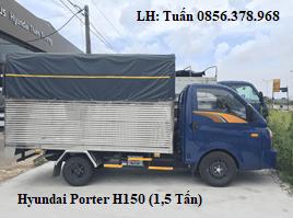 Bán xe tải Hyundai Porter H150 1,5 tấn 2019 tại Thái Bình