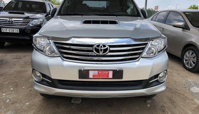Toyota chính hãng Fortuner dầu- Hỗ trợ (chi phí + thủ tục) sang tên