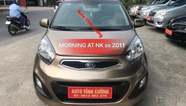 Cần bán xe Kia Morning 1.0 sản xuất 2011, màu vàng, nhập khẩu nguyên chiếc