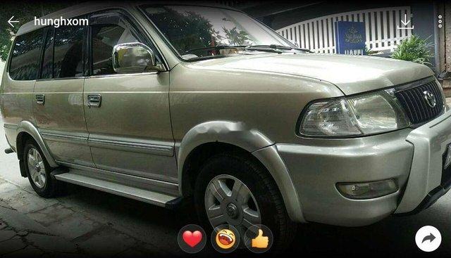 Thay xe mới bán Toyota Zace sản xuất năm 2005, màu vàng cát