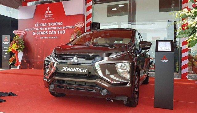 Bán Mitsubishi Xpander sản xuất 2019, màu nâu, nhập khẩu nguyên chiếc, giá 550tr