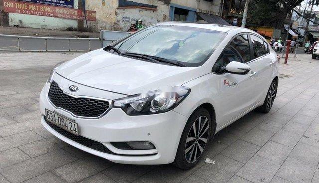 Bán Kia K3 1.6AT sản xuất 2015, màu trắng