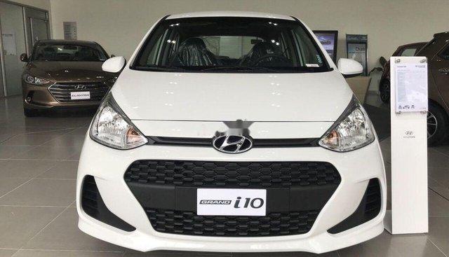 Bán xe Hyundai Grand i10 MT đời 2019, màu trắng