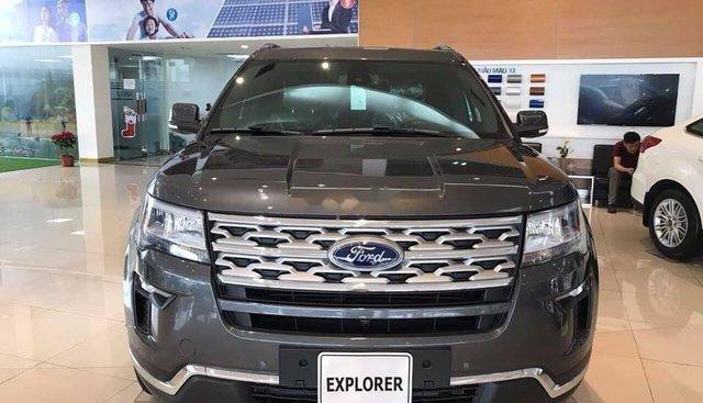 Bán xe Ford Explorer đời 2019, màu xám, nhập khẩu nguyên chiếc