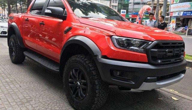 Bán ô tô Ford Ranger đời 2019, màu đỏ, nhập khẩu nguyên chiếc