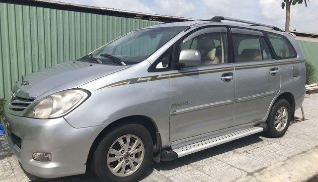 Cần bán Toyota Innova J đời 2007, màu bạc