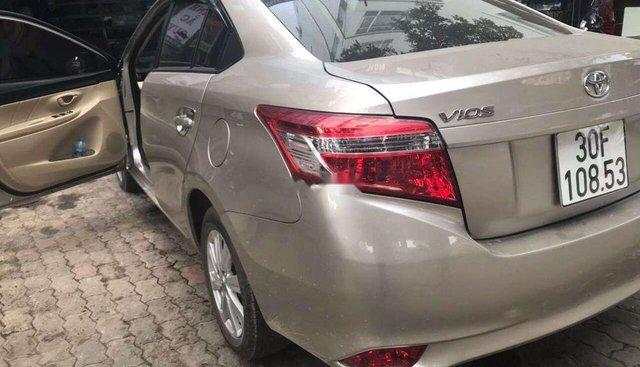 Bán Toyota Vios 2018, màu vàng, nhập khẩu nguyên chiếc, chính chủ giá cạnh tranh