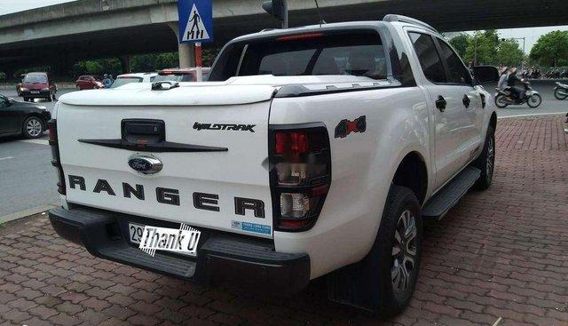 Bán Ford Ranger Wildtrak 2.0l 4x4 AT Biturbo đời 2018, màu trắng, nhập khẩu