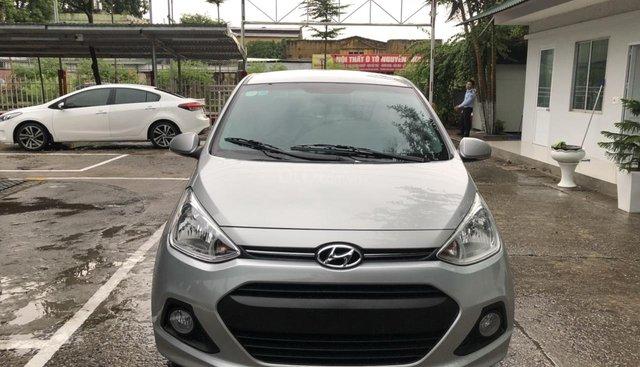 Bán ô tô Hyundai Grand i10 Hatchback, 1.2L, Full Options năm 2016, màu bạc, nhập khẩu nguyên chiếc