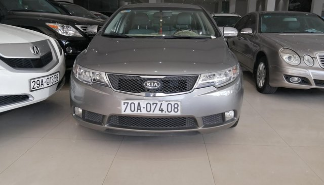 Bán ô tô Kia Forte sản xuất năm 2010, màu xám (ghi)