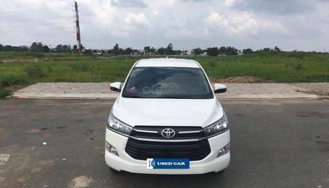Bán Toyota Innova 2.0E năm sản xuất 2018, trả trước 215tr nhận xe