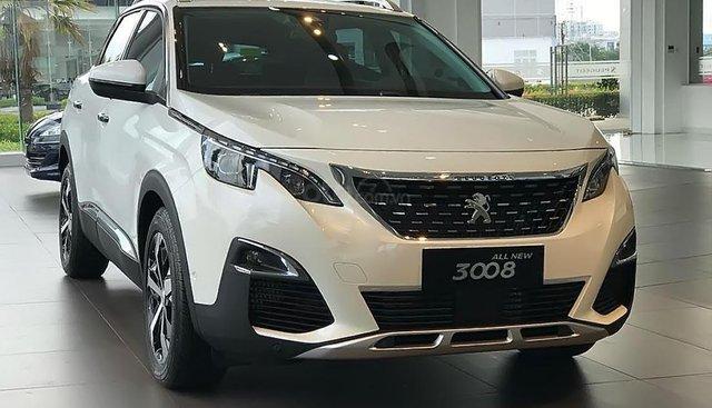 Bán Peugeot 3008 1.6 AT đời 2019, màu trắng