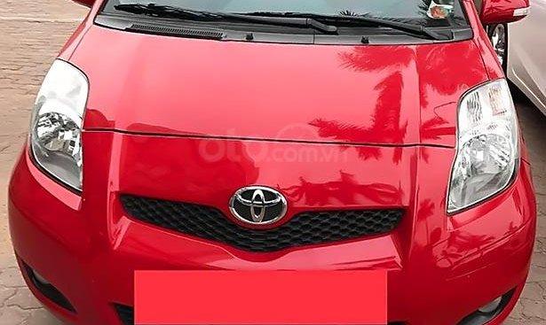 Chính chủ bán Toyota Yaris 1.3 AT năm sản xuất 2011, màu đỏ, nhập khẩu