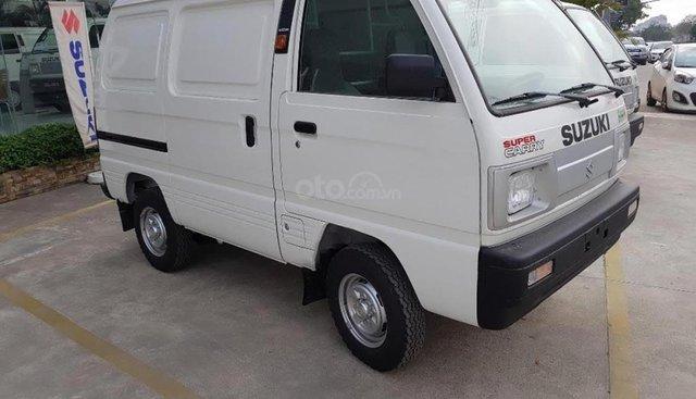Bán ô tô Suzuki Blind Van sản xuất 2019, màu trắng