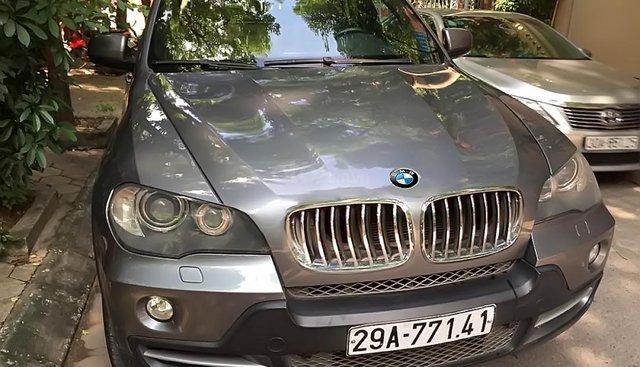 Bán xe BMW X5 4.8i 2007, màu xám, nhập khẩu nguyên chiếc