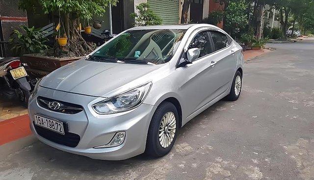 Bán xe Hyundai Accent 1.4 AT 2011, màu bạc, nhập khẩu