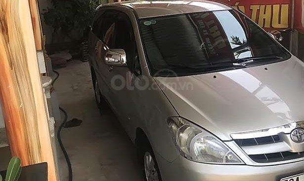Bán Toyota Innova G sản xuất năm 2007, màu bạc, 120 triệu