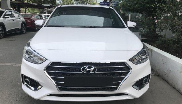 Bán ô tô Hyundai Accent AT bản đặc biệt, năm sản xuất 2019, màu trắng, xe giao ngay